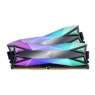 ADATA XPG SPECTRIX D60G 32GB (16GBx2) DDR4 3600MHz RGB RAM (AX4U3600316G18A-DT60)