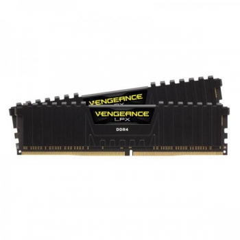 CORSAIR VENGEANCE LPX 64GB (32GBx2) DDR4 3600MHz RAM (BLACK) (CMK64GX4M2D3600C18)