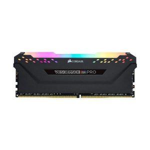 CORSAIR VENGEANCE RGB PRO 8GB(8GBx1) DDR4 3600MHz BLACK (FOR AMD)
