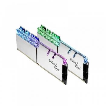 GSKILL TRIDENT Z ROYAL 16GB (8GBX2) 3600MHZ DDR4 RGB RAM (F4-3600C16D-16GTRSC)