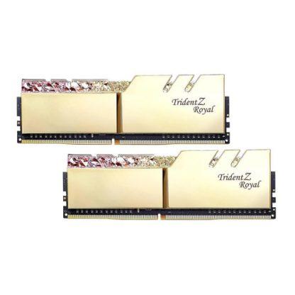 GSKILL TRIDENT Z ROYAL GOLD 32GB (2X16GB) 3200MHZ RAM (F4-3200C16D-32GTRG)