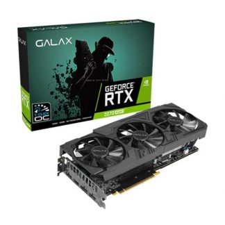 GALAX RTX 2070 SUPER EX GAMER BLACK EDITION (1-Click OC) 8GB GRAPHICS CARD (7ISL6MDW0BG)
