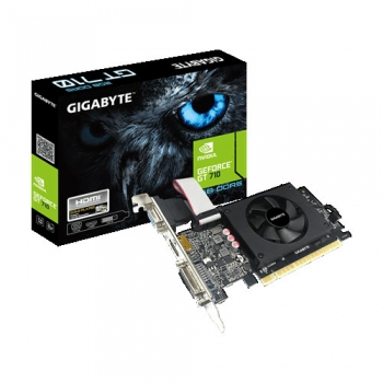 GIGABYTE GEFORCE GT 710 2GB GDDR5 64-bit GAMING GRAPHICS CARD (GV-N710D5-2GIL)