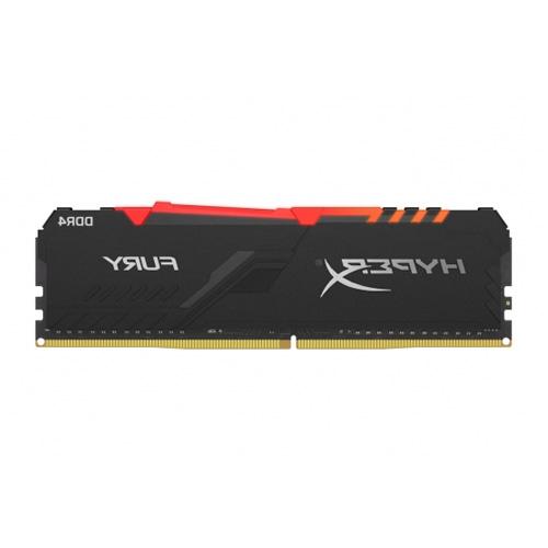 KINGSTON HYPERX FURY 8GB RGB DDR4 3200MHZ RAM (HX432C16FB3A/8)