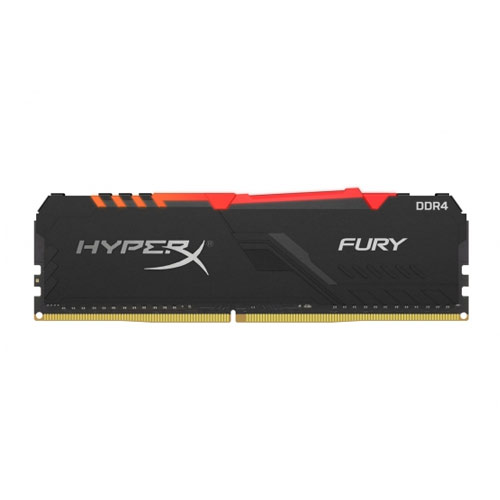 KINGSTON HYPERX FURY RGB 16GB DDR4 3200MHZ RAM (HX432C16FB3A/16)