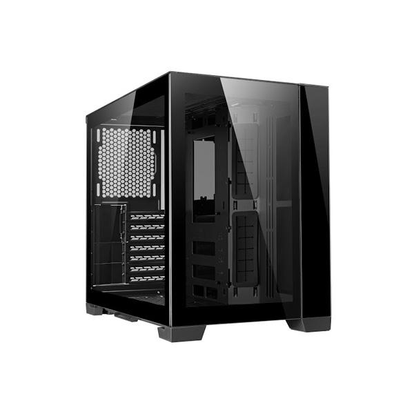 LIAN LI O11-DYNAMIC-MINI MID TOWER ATX CABINET (BLACK) (G99-O11DMI-X-IN)