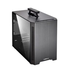 LIAN LI PC-TU150 M-ATX MINI TOWER CABINET (BLACK) (G99-TU15OWX-IN)