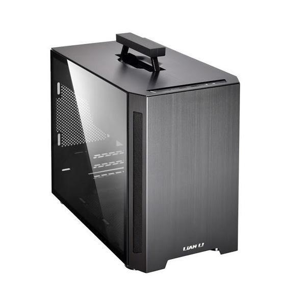 LIAN LI PC-TU150 M-ATX MINI TOWER CABINET (BLACK) (G99-TU15OWX-IN)