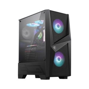 MSI MAG FORGE 100R ARGB ATX MID TOWER CABINET (Black)
