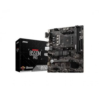 MSI B550M PRO AMD AM4 MOTHERBOARD
