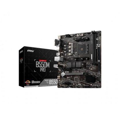 MSI B550M PRO AMD AM4 MOTHERBOARD