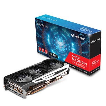 SAPPHIRE NITRO+ AMD RADEON RX 6800 XT 16GB GDDR6 GRAPHICS CARD (11304-02-20G)