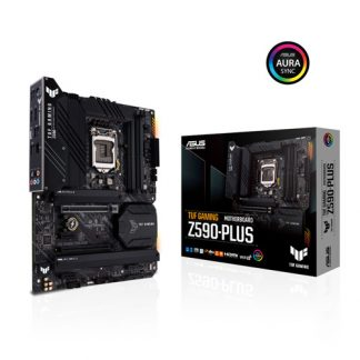 ASUS TUF GAMING Z590 PLUS INTEL LGA 1200 MOTHERBOARD