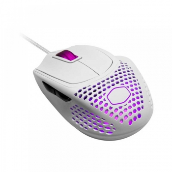 COOLER MASTER MM720 GAMING MOUSE – MATTE WHITE (MM-720-WWOL1)