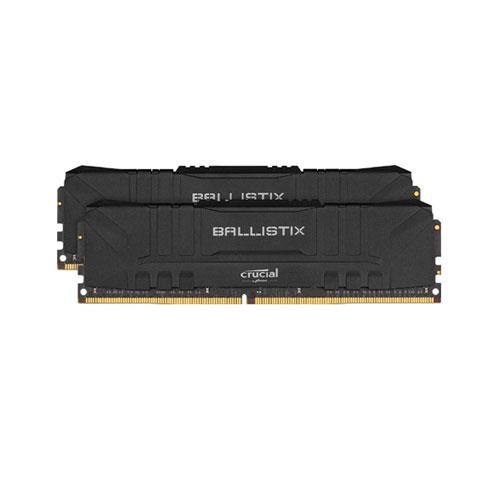 CRUCIAL BALLISTIX 16GB(8GBx2) DDR4 3000MHZ RAM (BLACK) (BL2K8G30C15U4B)