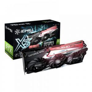 INNO3D GEFORCE RTX 3060 ICHILL X3 RED 12GB GDDR6 GRAPHICS CARD (C30603-12D6X-1671VA39A)