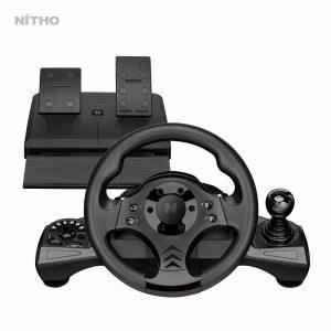 NITHO DRIVE PRO V16 RACING WHEEL & PEDAL SET (MLT-DP16-K)