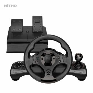 NITHO DRIVE PRO V16 RACING WHEEL & PEDAL SET (MLT-DP16-K)