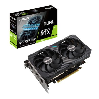 ASUS DUAL GEFORCE RTX 3060 OC EDITION 12GB GAMING GRAPHICS CARD