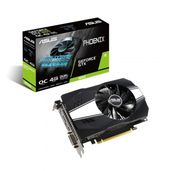 ASUS PHOENIX GEFORCE GTX 1650 V2 OC 4GB GDDR5 GRAPHICS CARD (PH-GTX1650-O4G-V2)