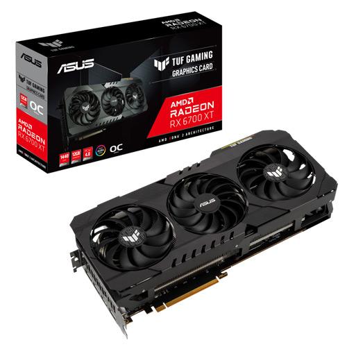 ASUS TUF GAMING RX 6700 XT OC 12GB GDDR6 12GB GRAPHICS CARD