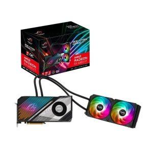 ASUS ROG STRIX LC RADEON RX 6800 XT OC 16GB GDDR6 GRAPHICS CARD WITH 240mm ARGB AIO COOLER
