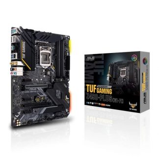 ASUS TUF GAMING Z490 PLUS (Wi-Fi) INTEL LGA 1200 MOTHERBOARD