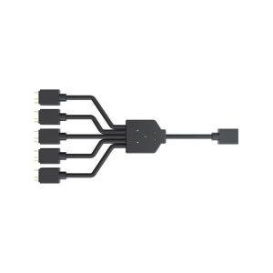 COOLER MASTER 1-To-5 ARGB SPLITTER CABLE (MFX-AWHN-1NNN5-R1)