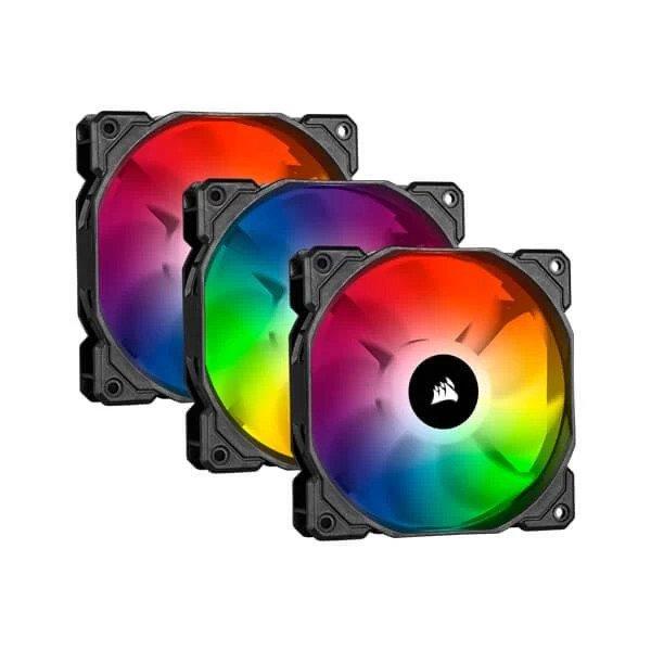 CORSAIR ICUE SP120 PRO RGB 120mm CABINET FAN (TRIPLE PACK) (CO-9050094-WW)