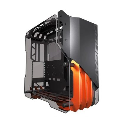 COUGAR BLAZER ATX MID TOWER CABINET WITH TEMPERED GLASS SIDE PANEL (BLACK) (CGR-5LMGO)