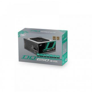 DEEPCOOL DQ650-M-V2L 650WATT 80 PLUS GOLD POWER SUPPLY (DP-GD-DQ650-M-V2L)