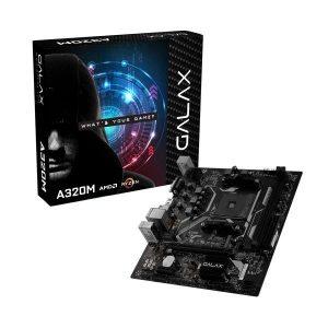 GALAX A320M AMD AM4 MOTHERBOARD