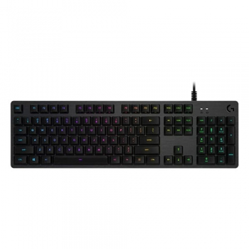 LOGITECH G512 CLIKY RGB MECHANICAL KEYBOARD-GX BLUE SWITCH (920-008949)