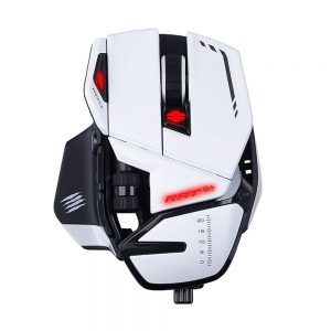 MAD CATZ THE AUTHENTIC R.A.T. 6+ RGB WIRED GAMING MOUSE WHITE (MR04DCINWH000-0)