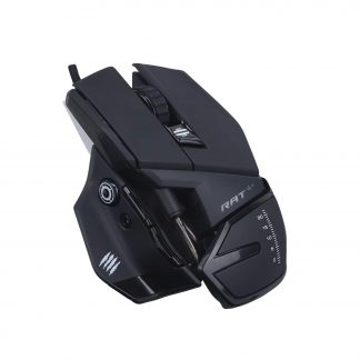 MAD CATZ THE AUTHENTIC R.A.T. 4+ WIRED GAMING MOUSE (MR03MCINBL000-0)
