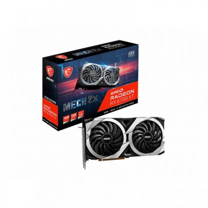 MSI RADEON RX 6700 XT MECH 2X 12GB OC GDDR6 GRAPHICS CARD