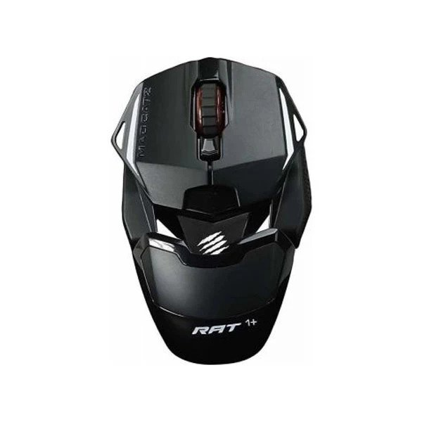 MADCATZ R.A.T. 1+ WIRED OPTICAL GAMING MOUSE BLACK (MR01MCINBL000-0)