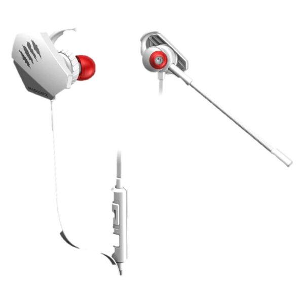 VERBATIM E.S. PRO+ GAMING EAR BUDS (WHITE) (AE21CDINWH000)