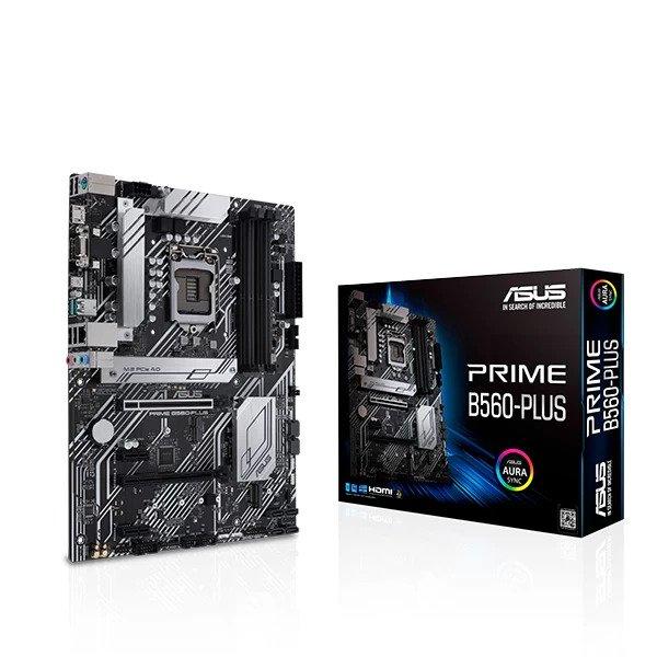ASUS PRIME B560-PLUS INTEL LGA1200 MOTHERBOARD (90MB16N0-M0IAYO)