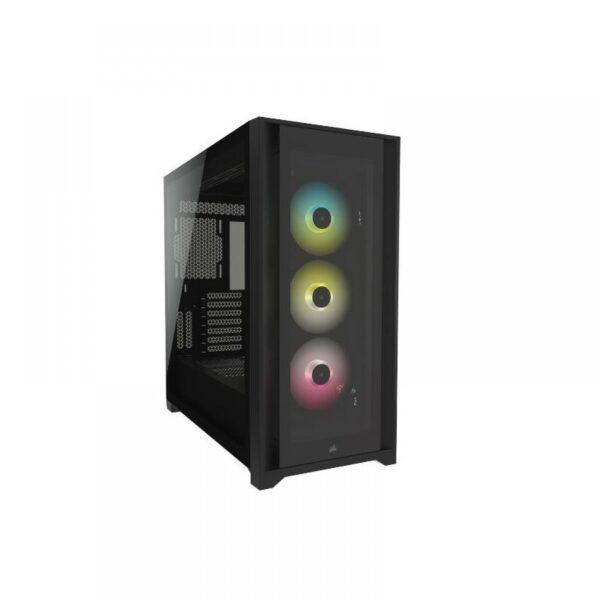 CORSAIR 5000X RGB MID-TOWER CABINET - BLACK (CC-9011212-WW)
