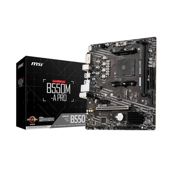 MSI B550M-A PRO MICRO ATX AMD AM4 MOTHERBOARD