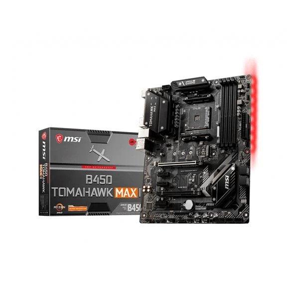 MSI B450 TOMAHAWK MAX II AMD AM4 ATX MOTHERBOARD