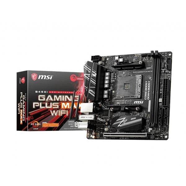 MSI B450I GAMING PLUS MAX WIFI AMD AM4 MOTHERBOARD