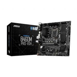 MSI B460M PRO-VDH LGA1200 MICRO ATX MOTHERBOARD