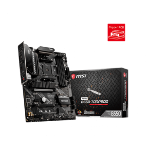 MSI MAG B550 TORPEDO AMD AM4 ATX MOTHERBOARD