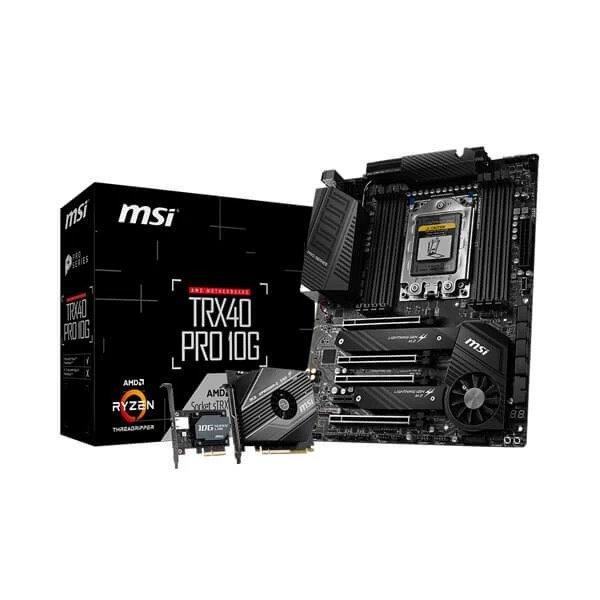 MSI TRX40 PRO 10G AMD TRX40 MOTHERBOARD