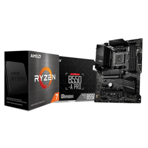 MSI B550 A PRO & AMD RYZEN 7 5800X COMBO