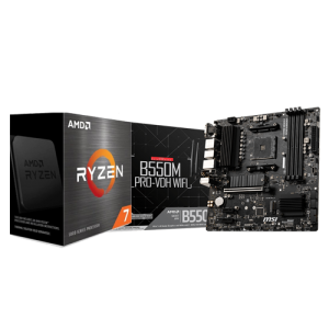 MSI B550M PRO VDH WIFI & AMD RYZEN 7 5800X COMBO