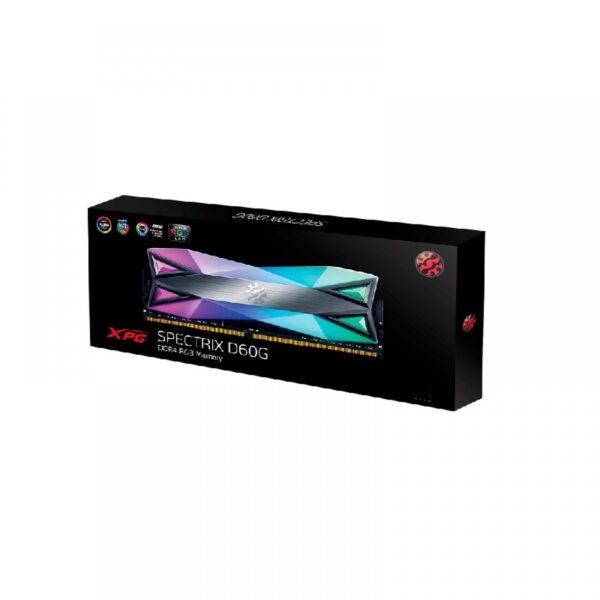 ADATA XPG SPECTRIX D60G 16GB (8GBX2) DDR4 RGB 3200MHZ RAM (AX4U32008G16A-DT60)