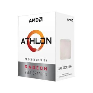 AMD ATHLON 3000G DESKTOP PROCESSOR WITH RADEON VEGA 3 GRAPHICS